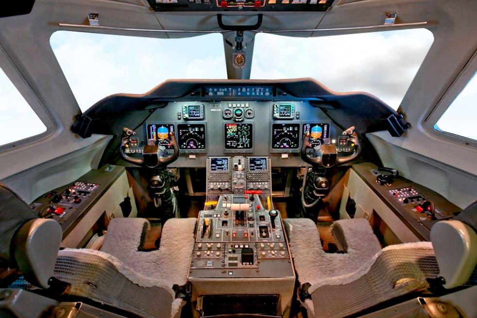 аренда бизнес джета Gulfstream G200