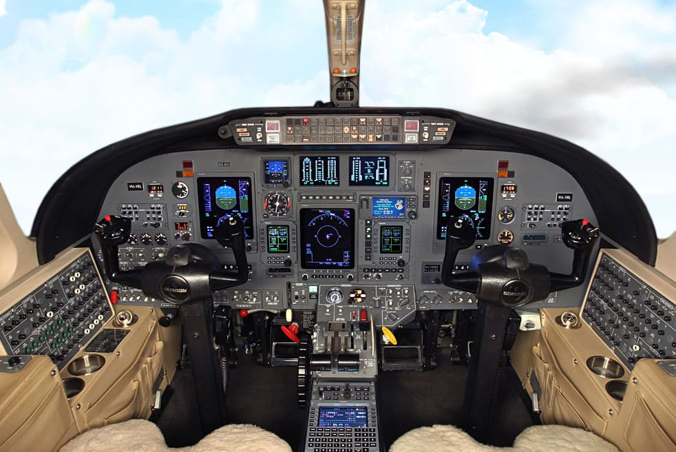 аренда бизнес джета Cessna Citation CJ3