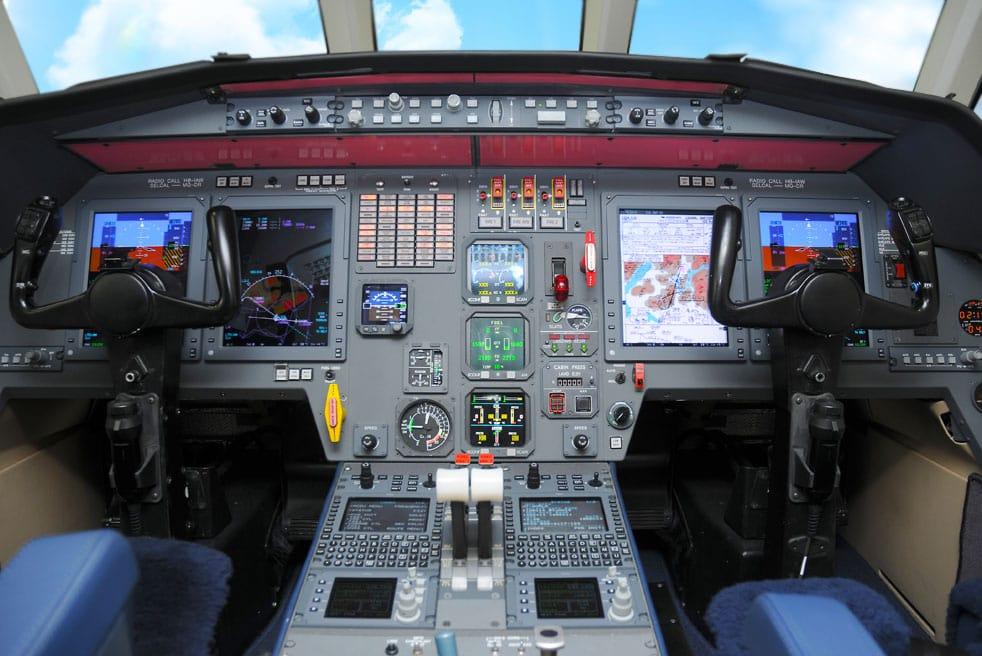 аренда бизнес джета Dassault Falcon 2000
