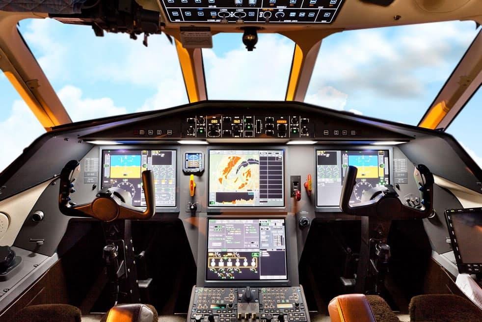 аренда бизнес джета Dassault Falcon 900