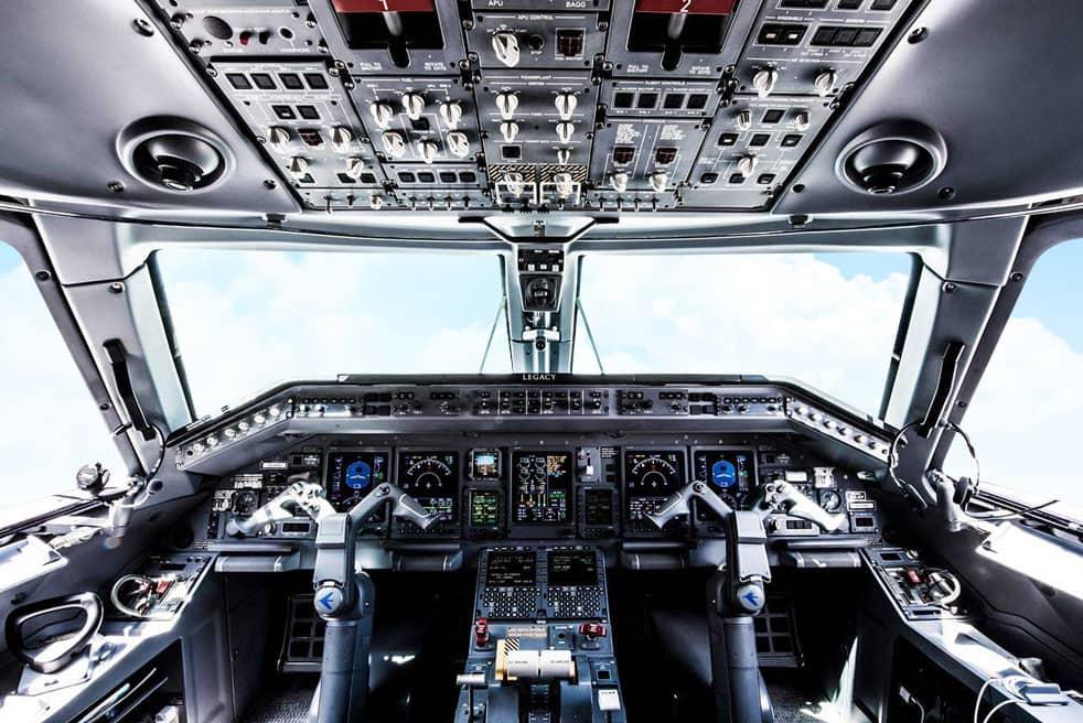 аренда бизнес джета Embraer Legacy 600