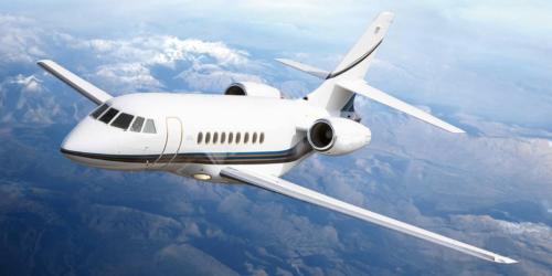 аренда бизнес джета Dassault Falcon 2000DX