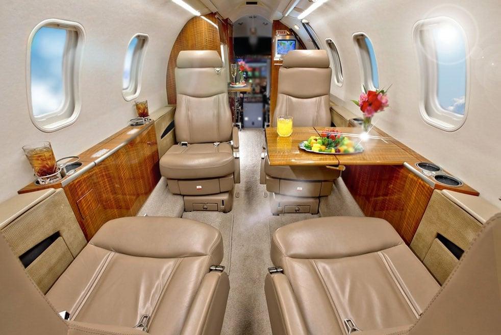 арендовать самолет Bombardier Learjet 40