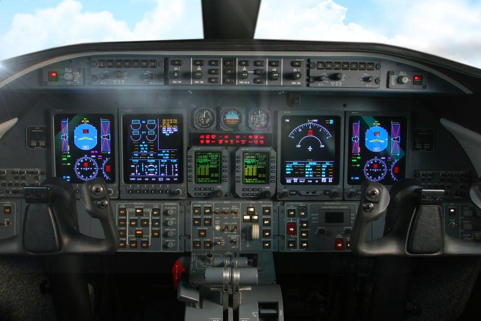 аренда частного самолета Bombardier Learjet 40