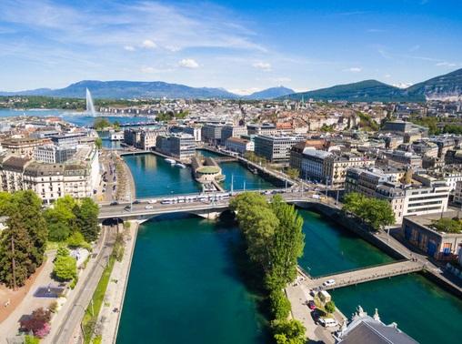 бизнес джет в Женеву