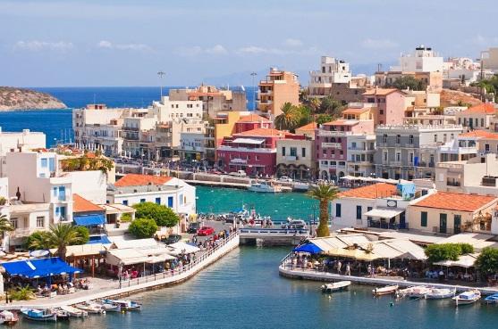 бизнес джет на Крит